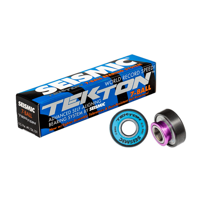 Seismic Tekton Kullager 7-Ball Blue Purple