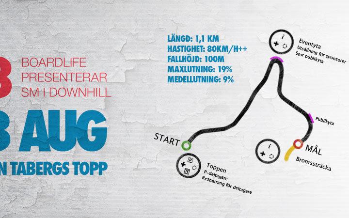 Taberg Downhill Challenge — Longboard SM