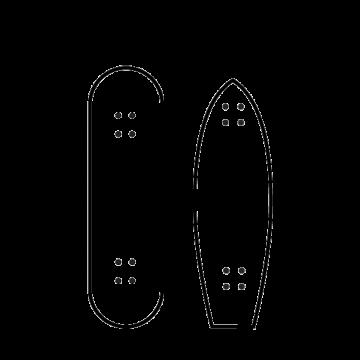 Skateboards Deck only