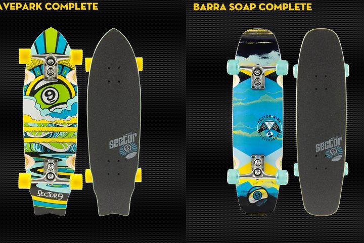 Sector 9 Product Guide – Mini Series: Barra Soap & Wavepark Mini