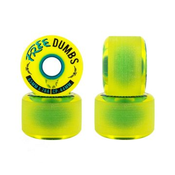 Free Wheel Co Dumbs 65mm Gold Standard