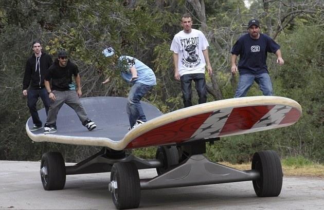Världens största skateboard
