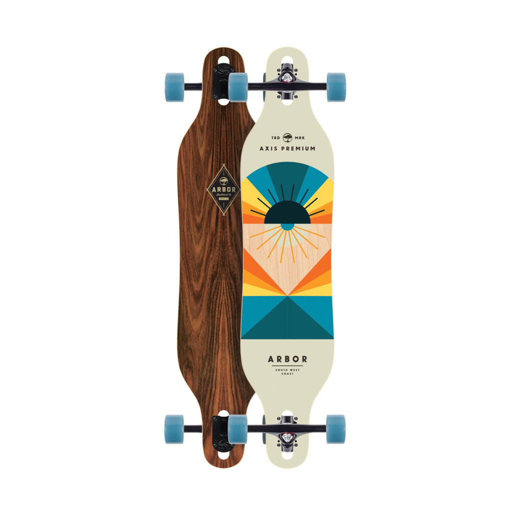 Arbor Skateboards Axis Flagship 2016