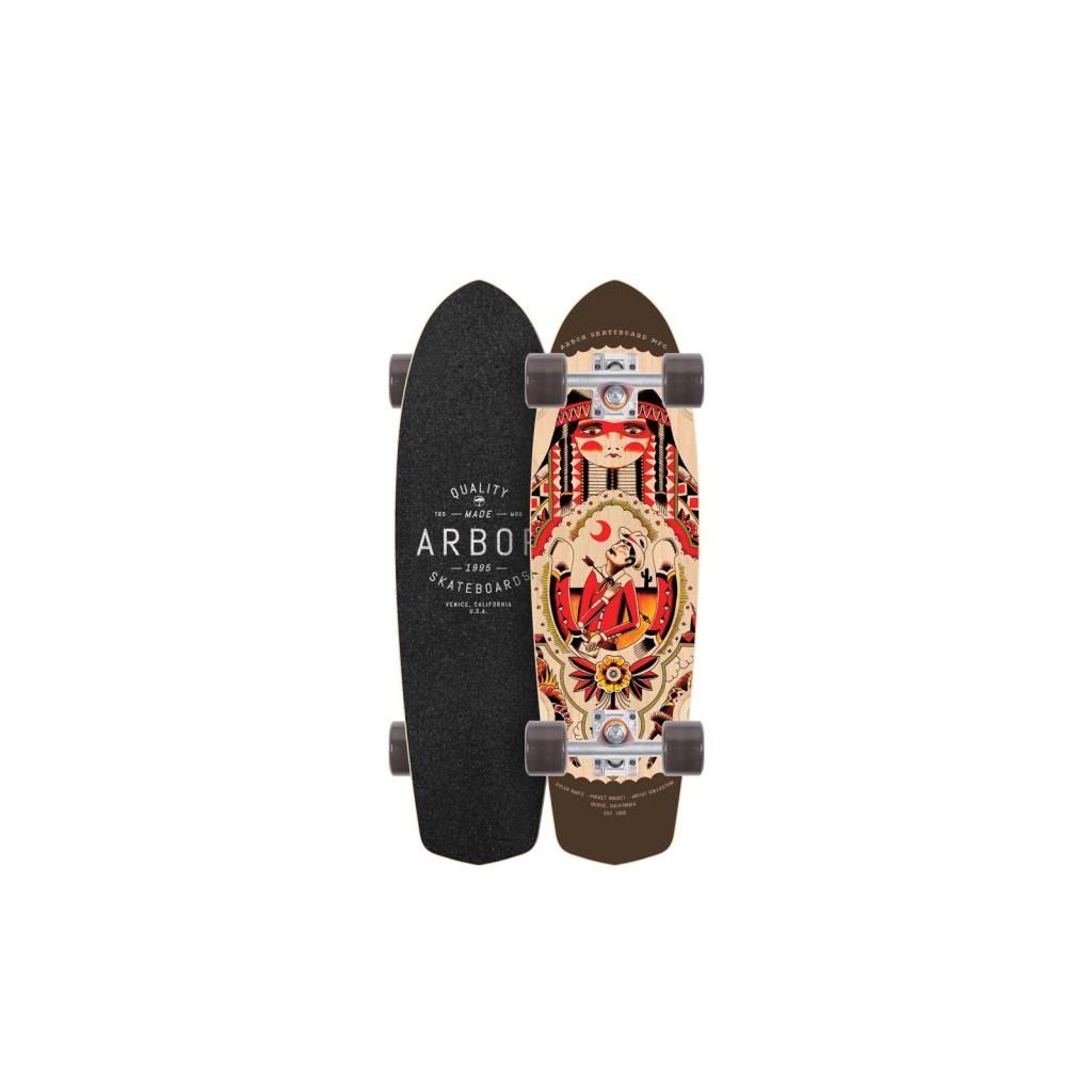 Arbor Skateboards Pocket Rocket Artist Collection 2016