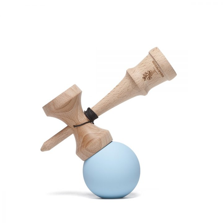 Heartwood Kendama Solid Sky side