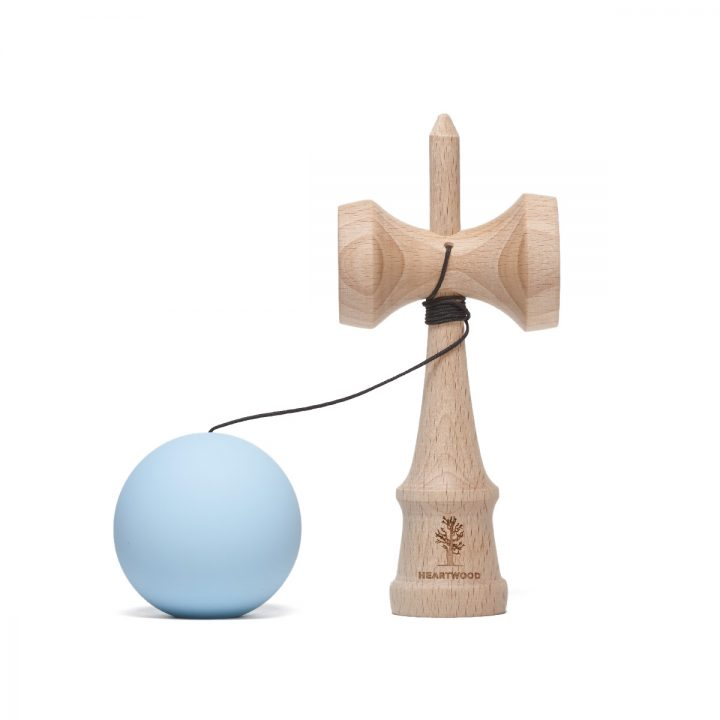 Heartwood Kendama Solid Sky unmounted