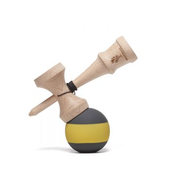 Heartwood Kendama Stripe Bee side