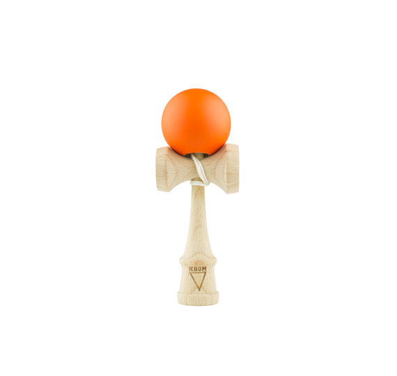 Krom Kendama Mini Rubber - Orange