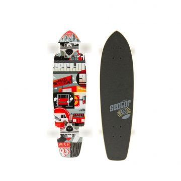 Sector 9 Dart Minicruiser Red