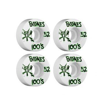 Bones 52mm 100'S skateboardhjul