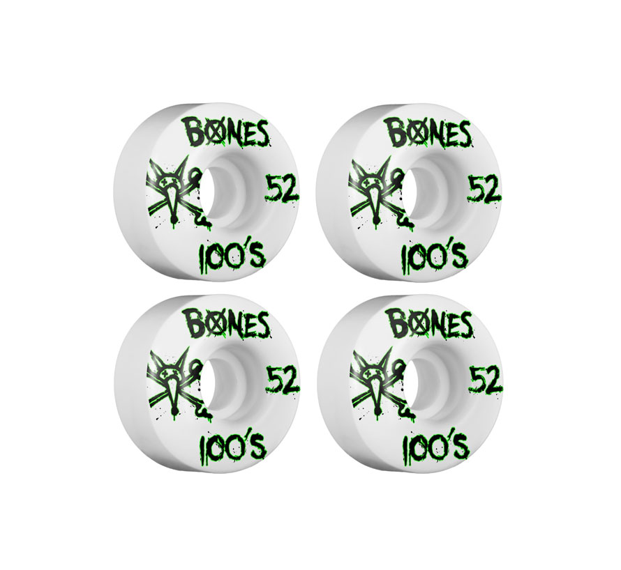 Bones 52mm 100'S skateboardhjul