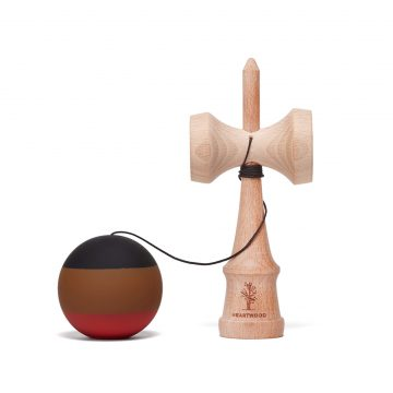 Heartwood Kendama Stripe Soil unmounted