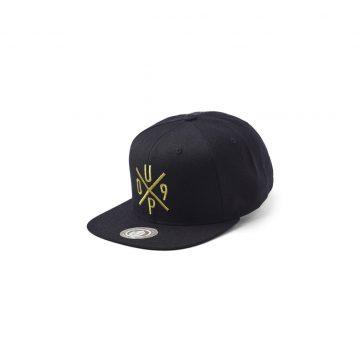 UPFRONT Snapback Cap Black Gold