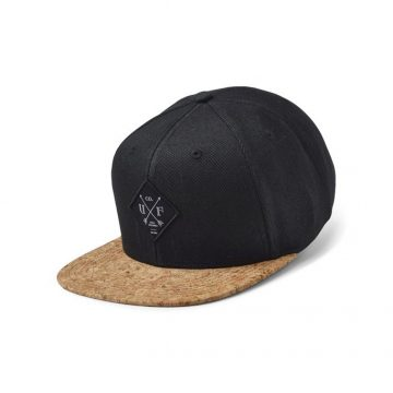 upfront snap back black cork