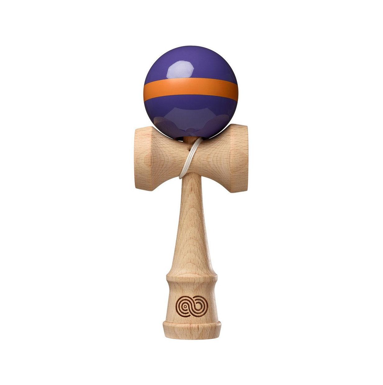 Kaizen Single Stripe - Purple with Orange Single Stripe - Gloss