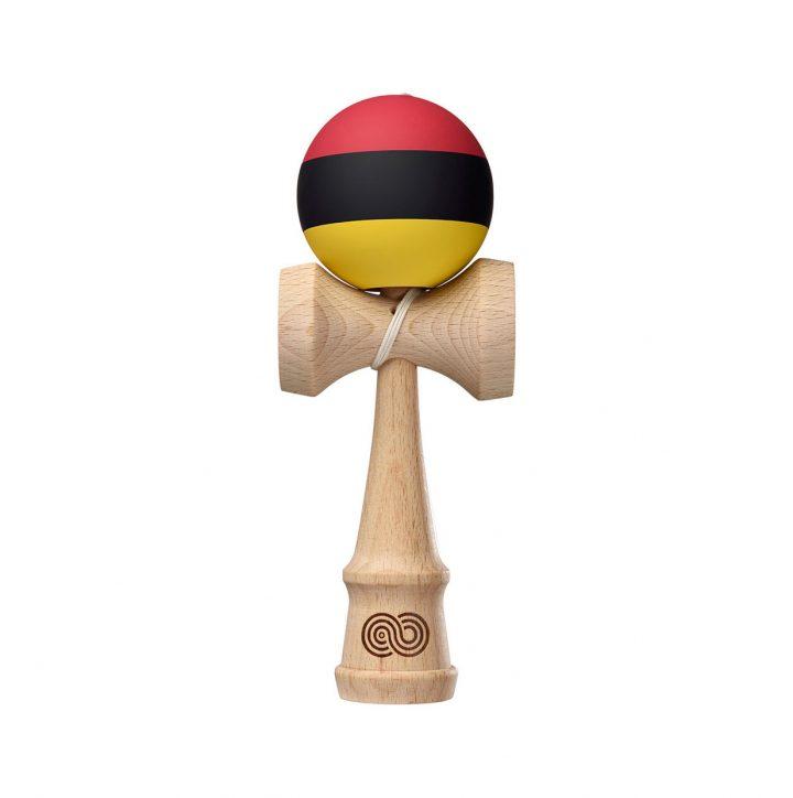 Kaizen Trip Split - Red Black Yellow - Silk