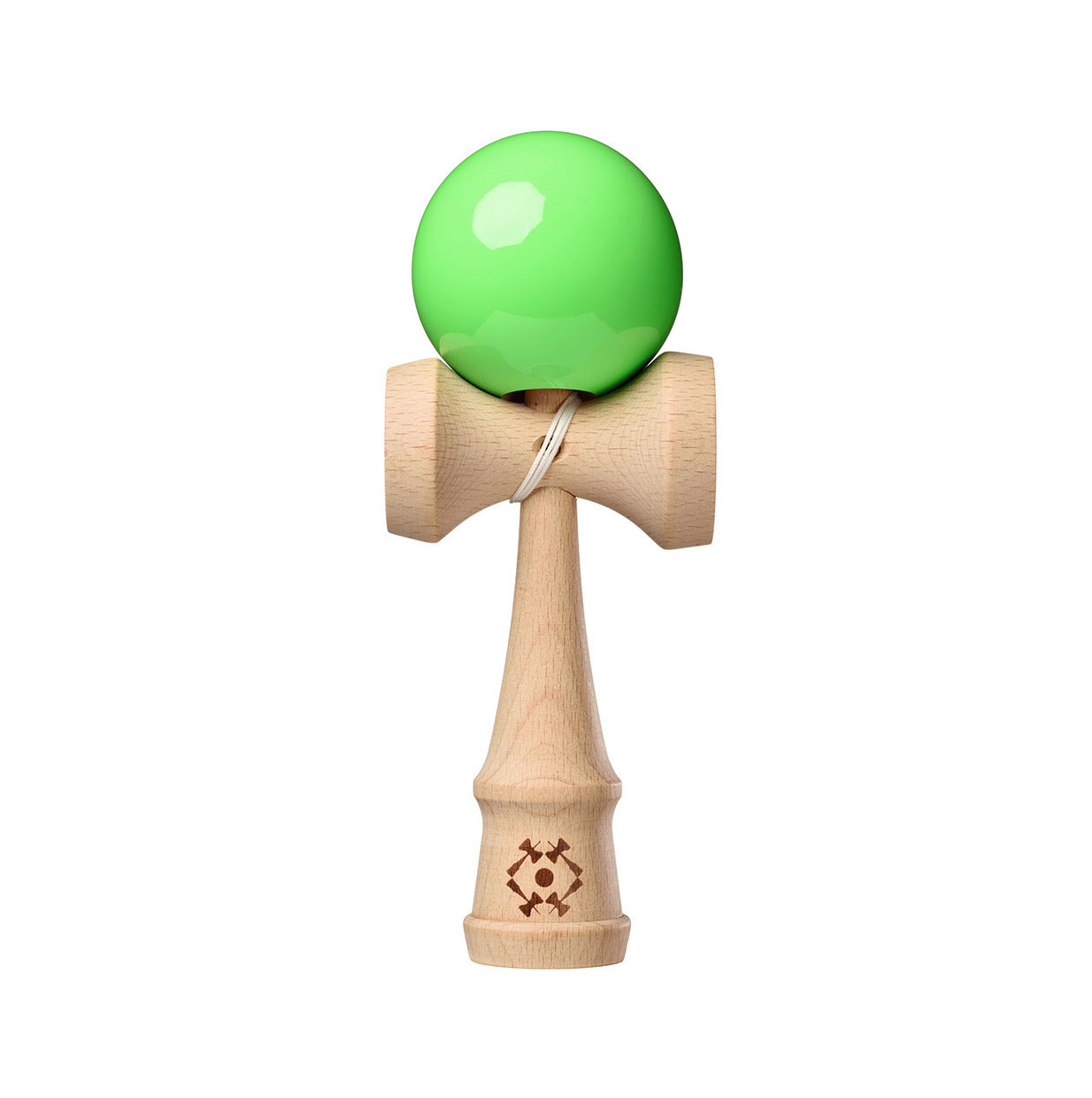 Tribute Kendama - Neon Green