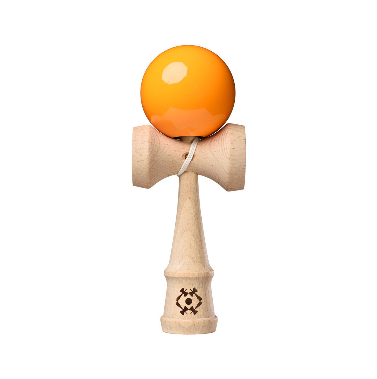 Tribute Kendama - Neon Orange