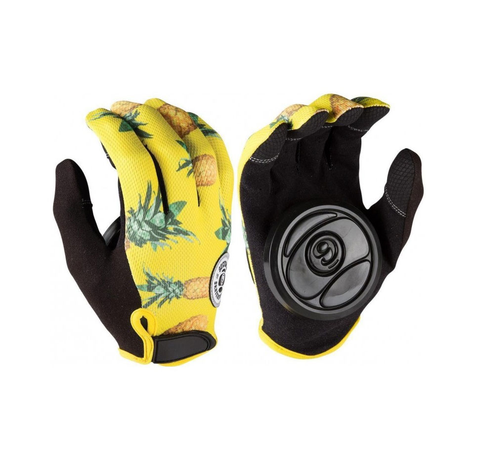 Sector 9 Rush Slide Gloves - Yellow
