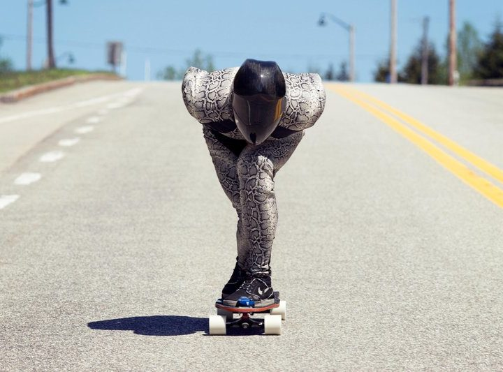 Erik Lundberg – Världens snabbaste på skateboard – 130 km/h