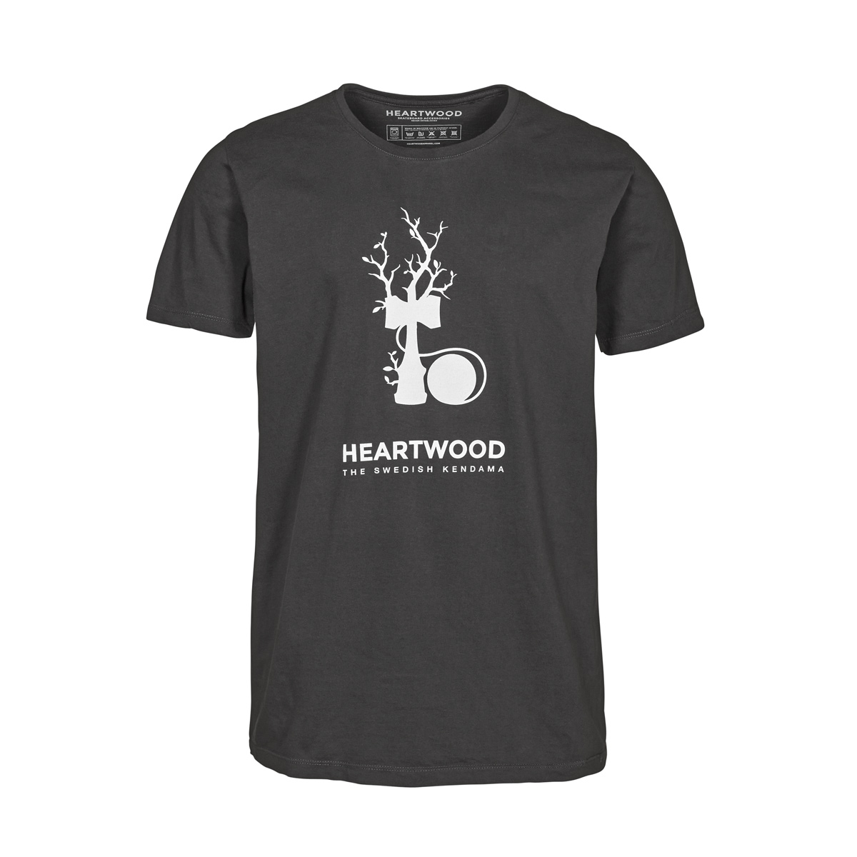 Heartwood Kendama T-Shirt Grå