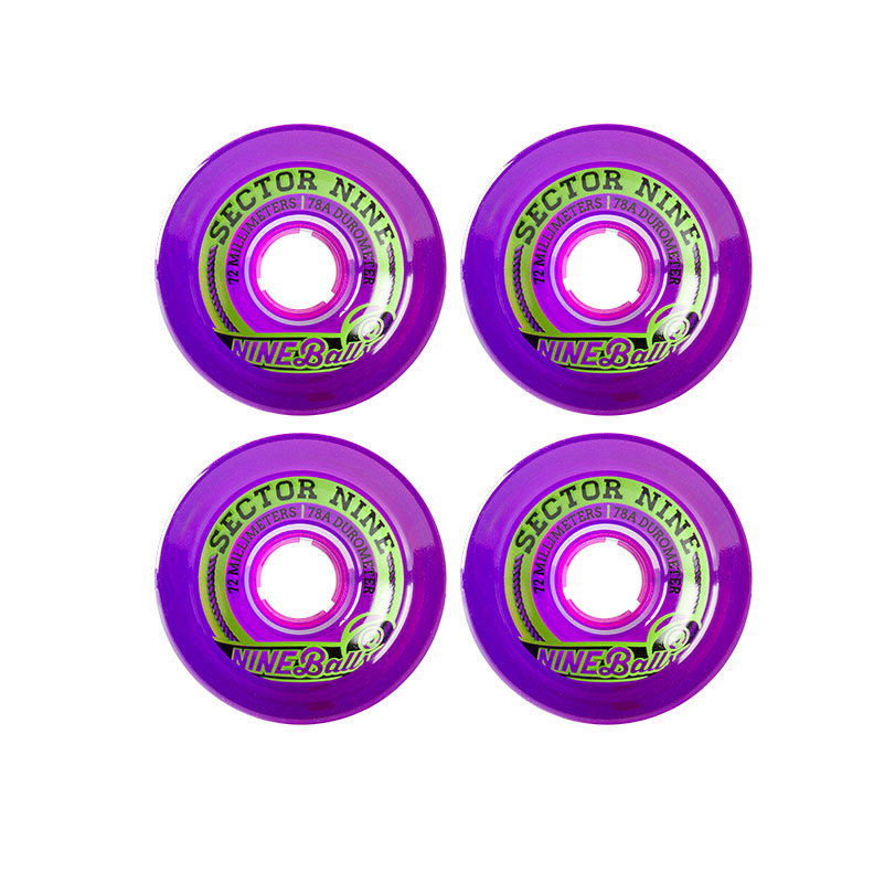 Sector 9 Topshelf 72mm 75A OS Purple
