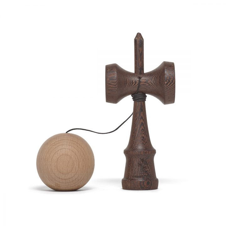 Heartwood Kendama Nature Series Dark Wood unmounted