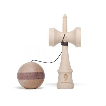 Heartwood Kendama Nature Series Purple Heart unmounted