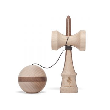 Heartwood Kendama Nature Series Two Face Walnut unmounted