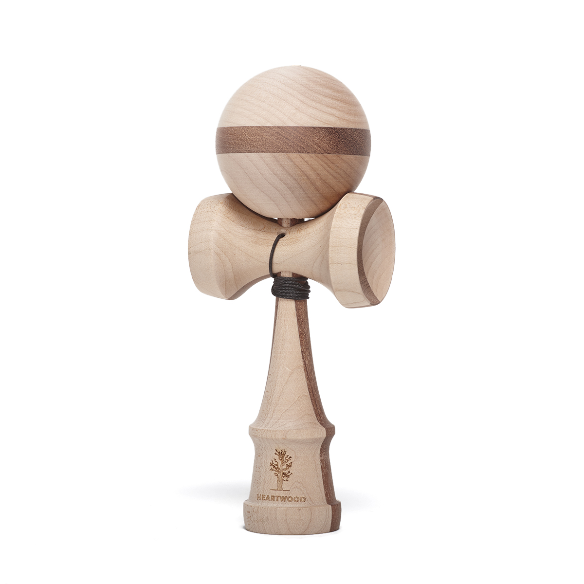Heartwood Kendama Nature Series Two Face Walnut