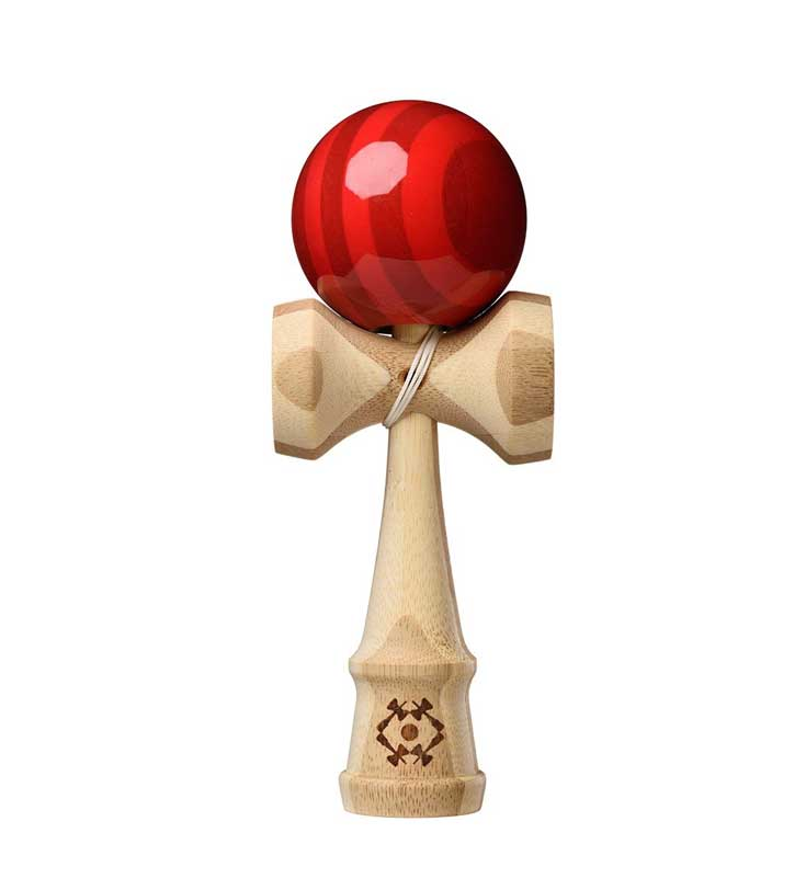 Tribute Kendama - Bamboo - Red