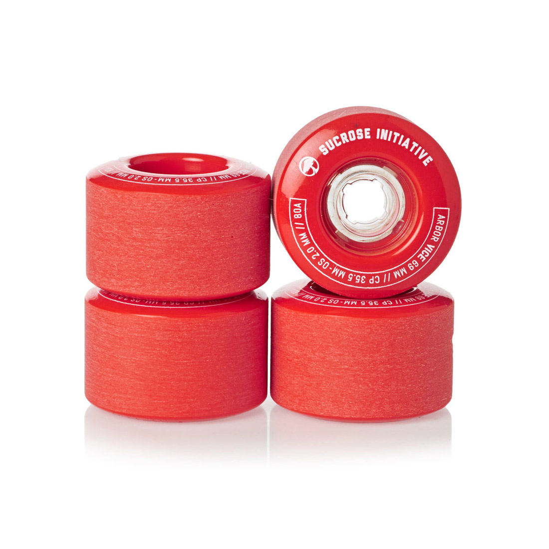 Arbor Collective Vice 80a 69mm Red
