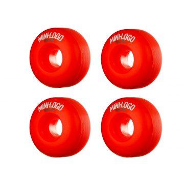 MINI LOGO Wheel 52mm 101a C-cut Red