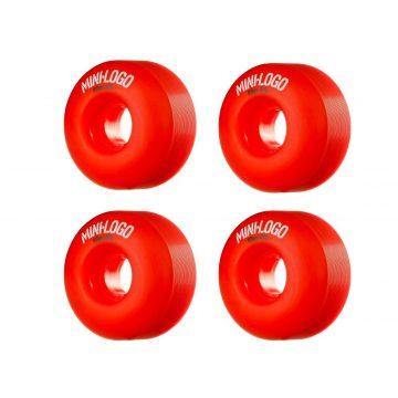 MINI LOGO Wheel 53mm 101a C-cut Red