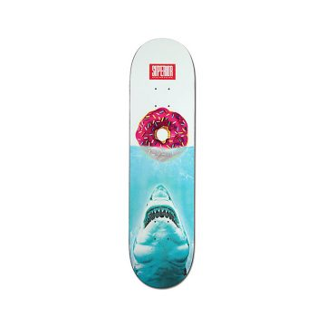 Superior Jaws Donut White Blue