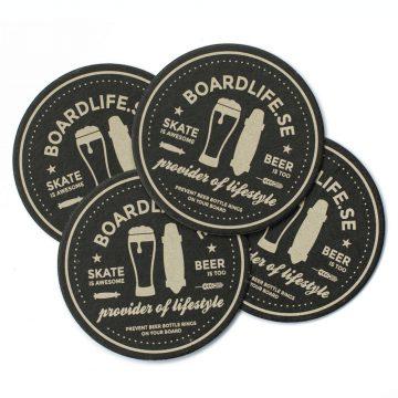 Boardlife Ölunderlägg 4-pack