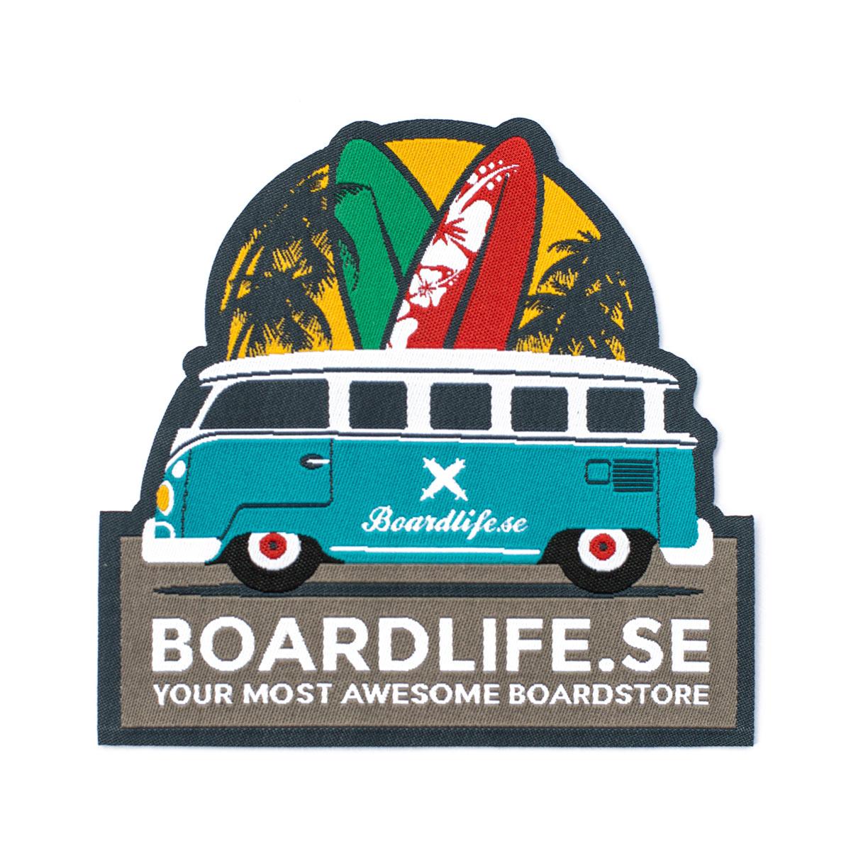Boardlife tygmärke 2016