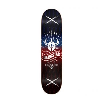 Darkstar 8.375 Logo Deck Axis Red/Blue