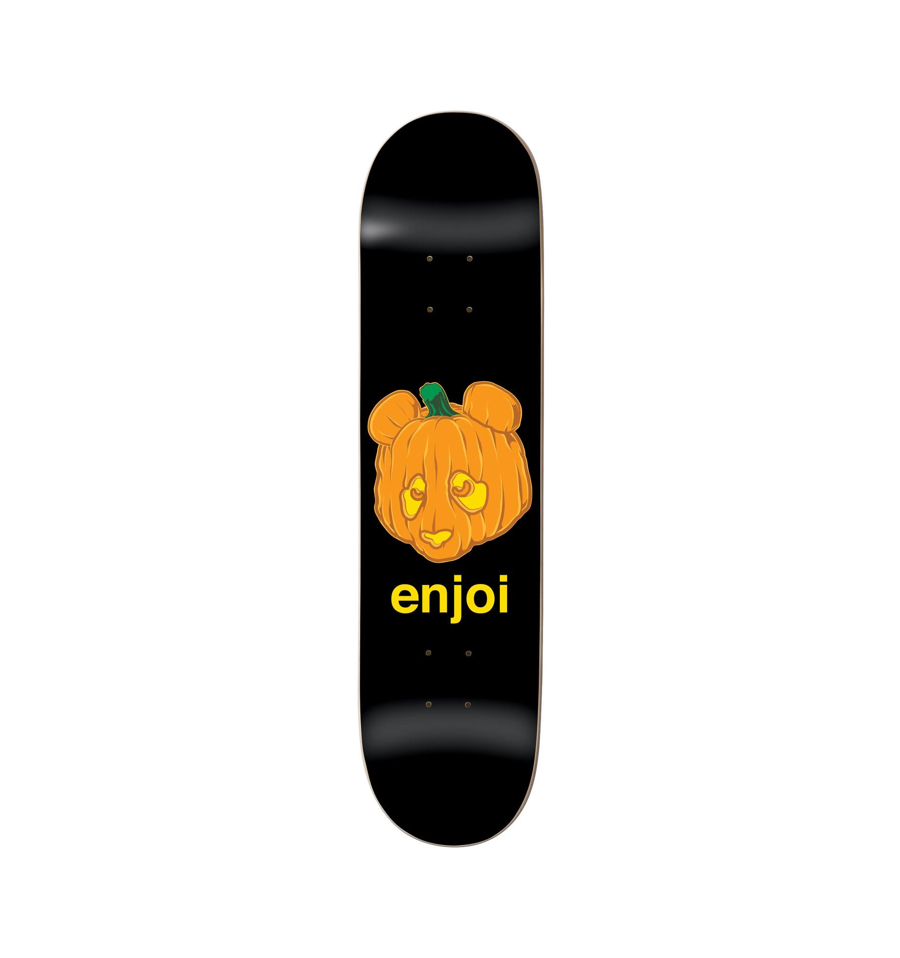 Enjoi 8.0 Pumpkin Spice Black
