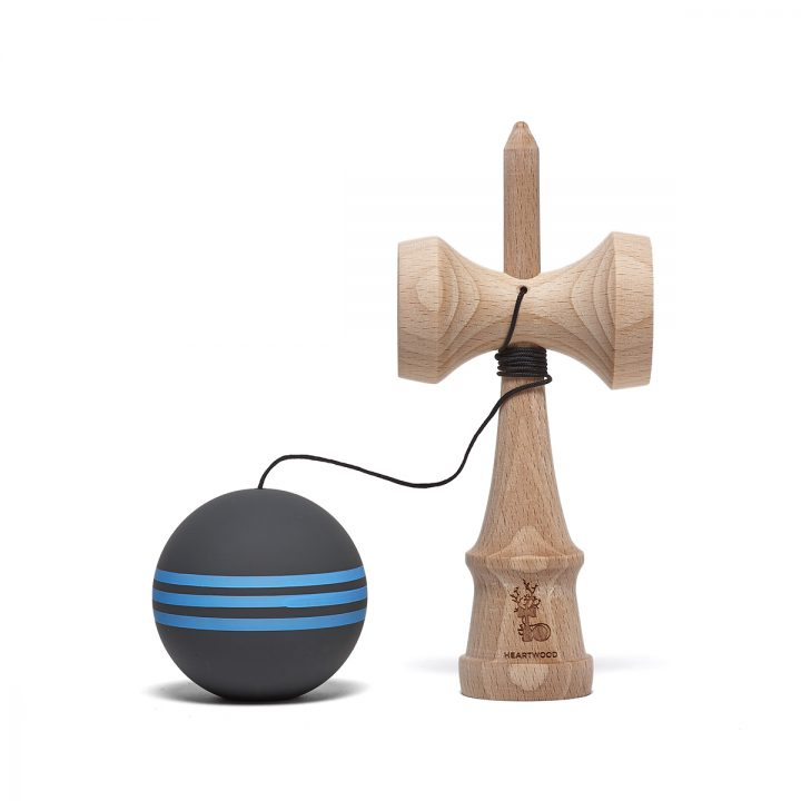 Heartwood Kendama Pinstripe Space 2 unmounted