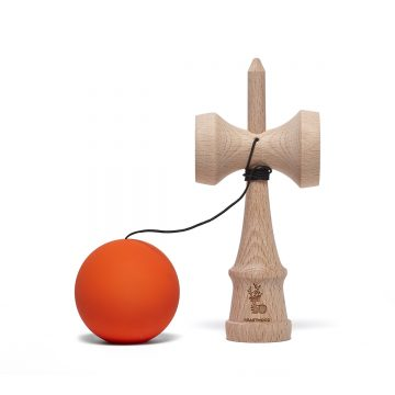 Heartwood Kendama Solid Burning Sun unmounted