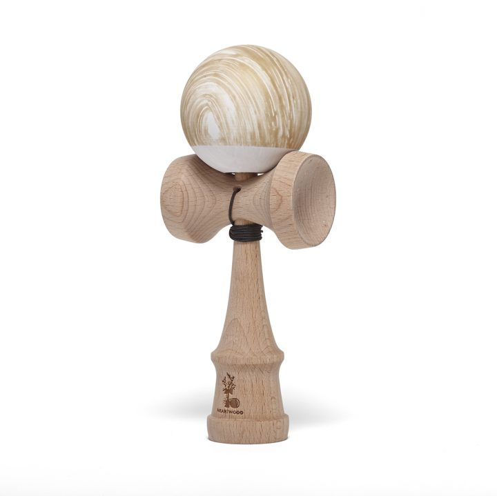 Heartwood Kendama Waves Gold/White
