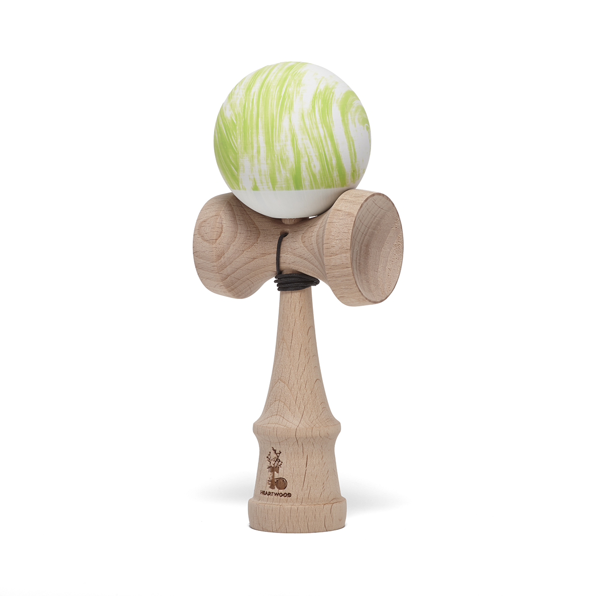 Heartwood Kendama Waves Green/White
