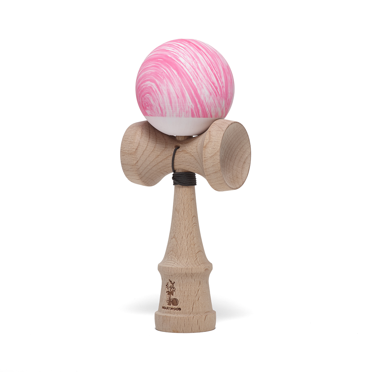 Heartwood Kendama Waves Pink/White