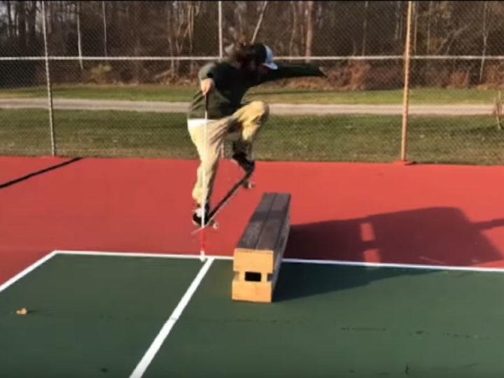 Daniel Mancina är blind men kan skate bättre än de flesta med syn!