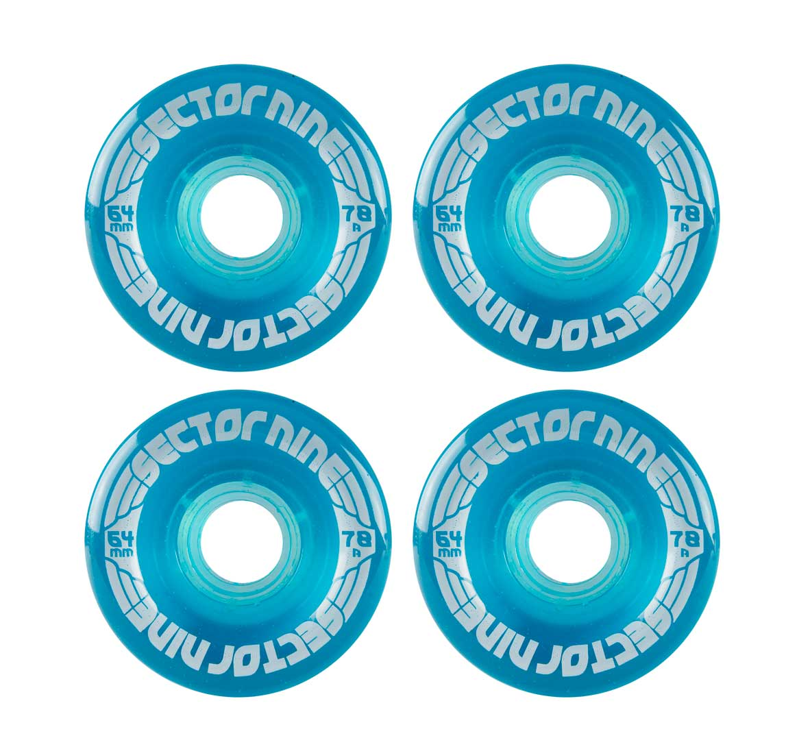 sector 9 64mm Nine balls 78a centerset light blue