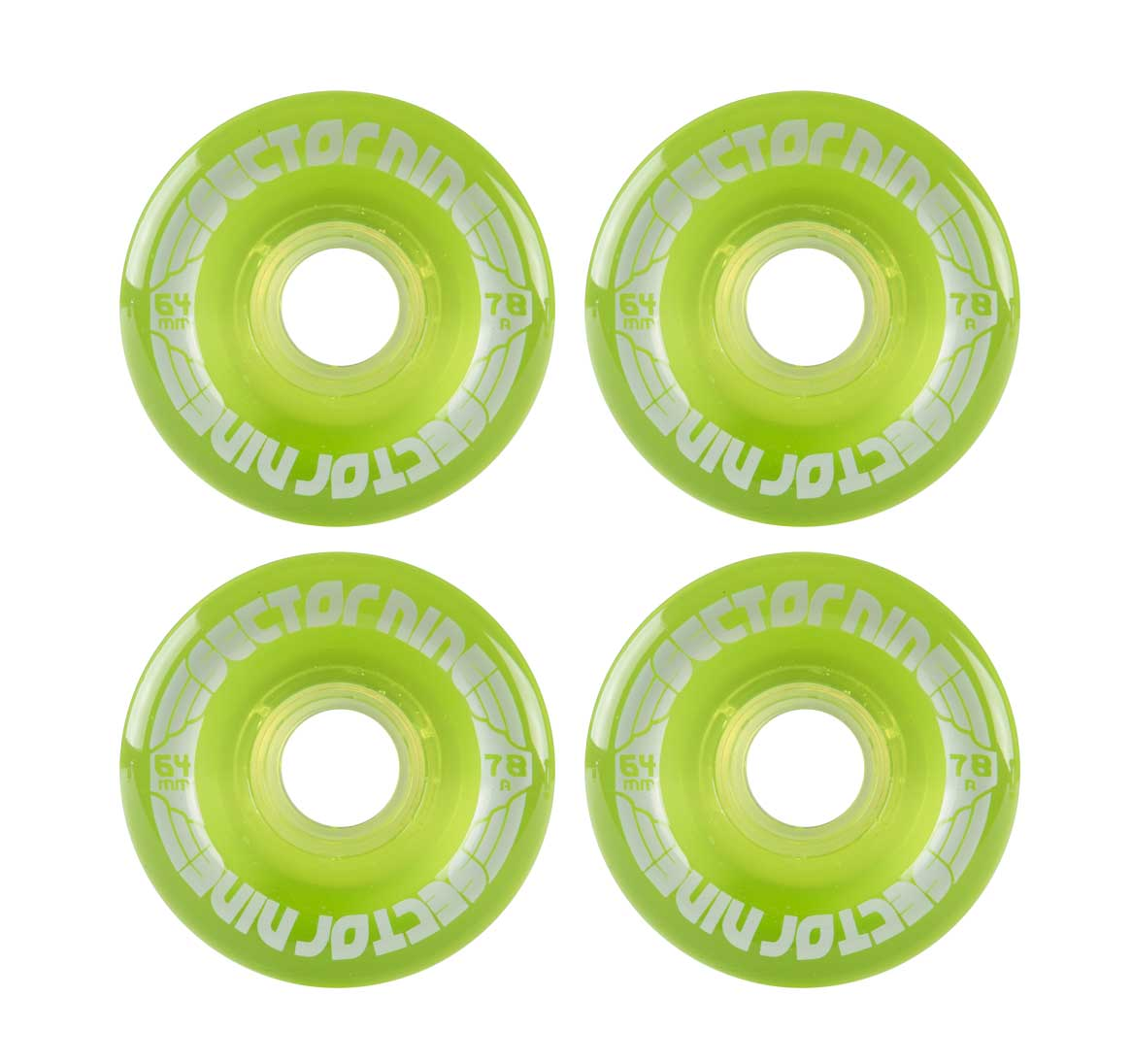 sector 9 64mm Nine balls 78a centerset light green