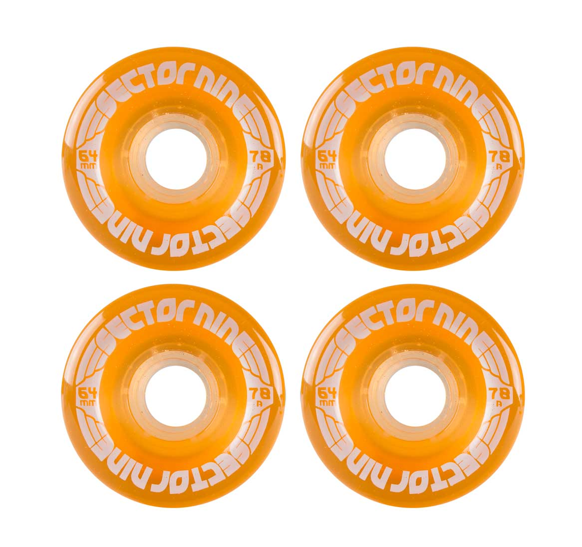 sector 9 64mm Nine balls 78a centerset light orange