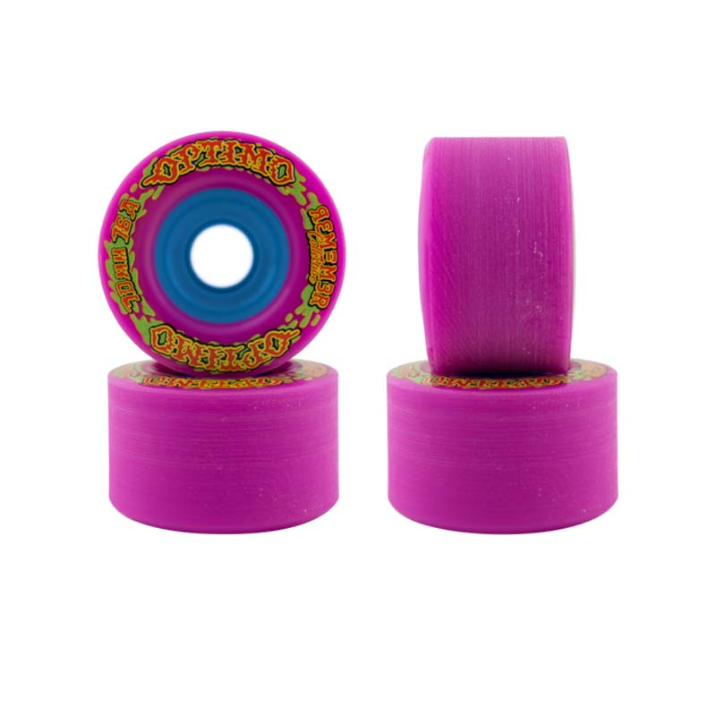 70mm Remember Optimo Wheels Pink