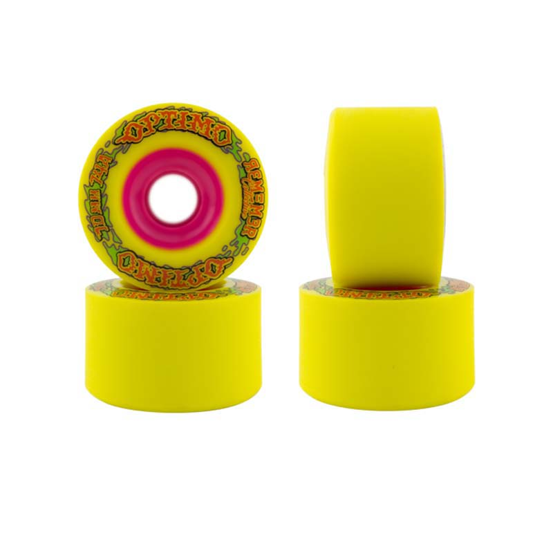 70mm Remember Optimo Wheels Yellow